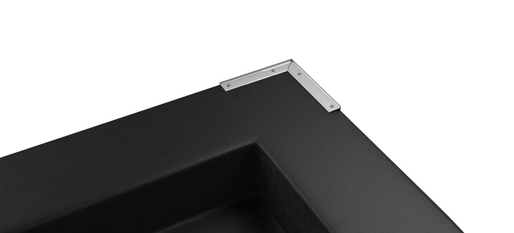 Coin préformé en alu pour toiture en caoutchouc EasyGum EPDM
