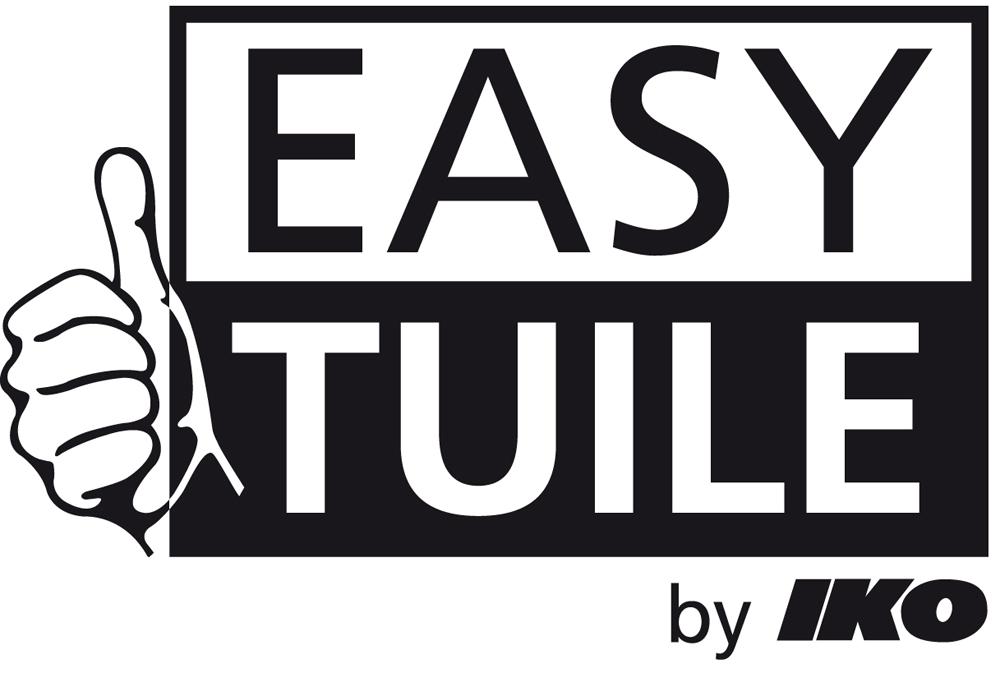 EASY-Tuile logo: concept de panneaux - tuiles modulaires