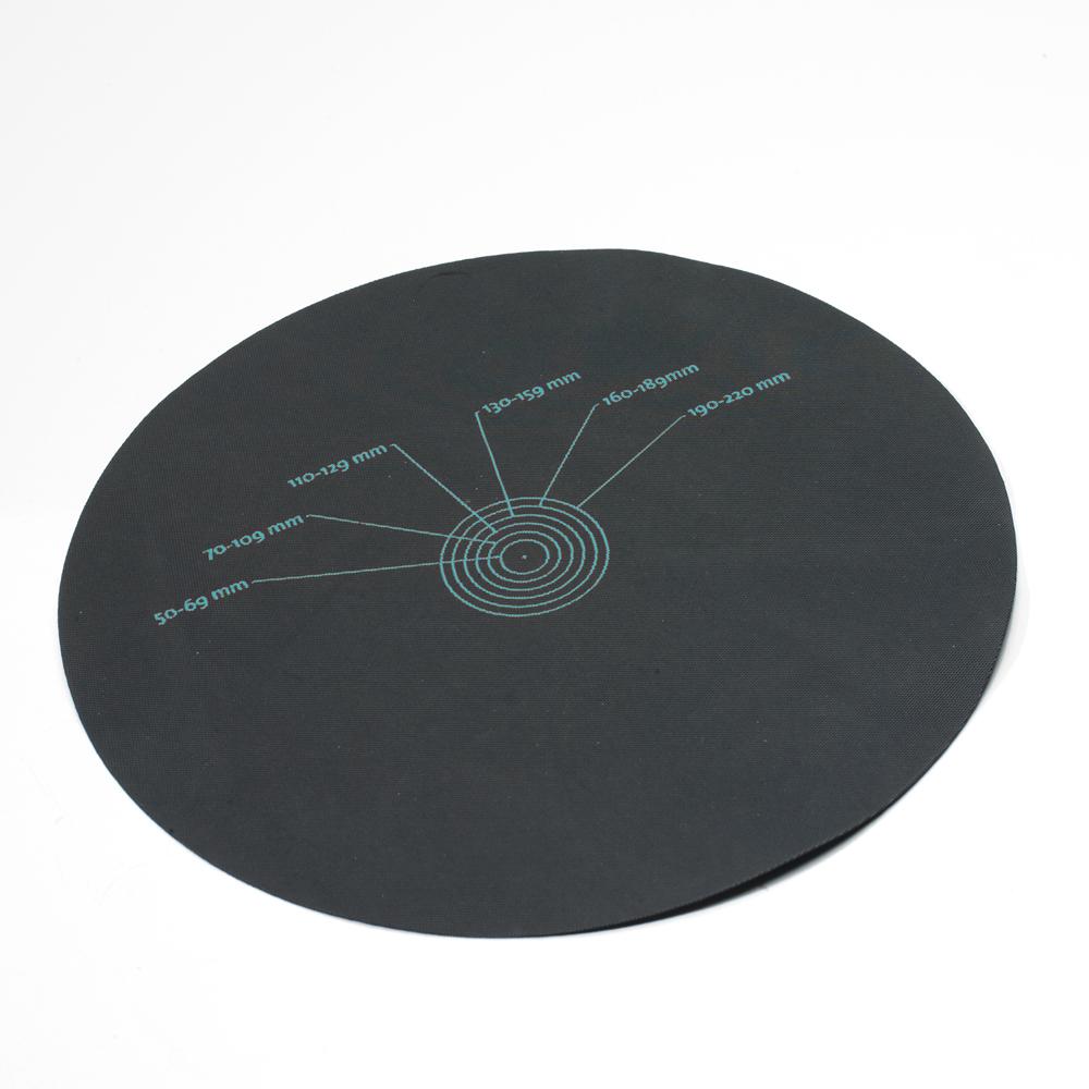 Manchette universelle EasyGum EPDM pour sortie de ventilation diamètre 300 mm