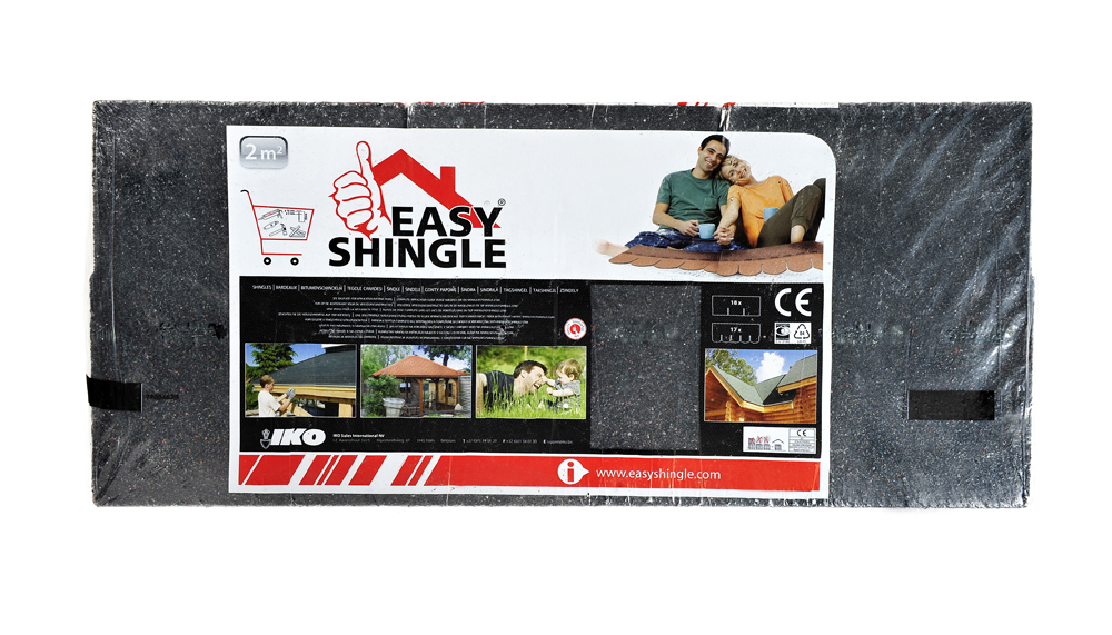 Easy Shingle Rectangulaire noir