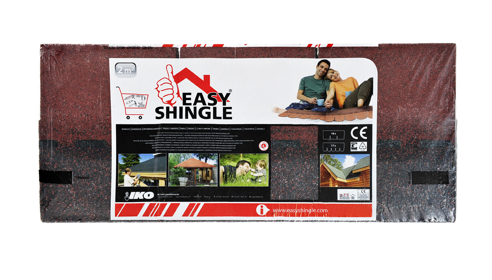 Easy Shingle Rectangulaire rouge
