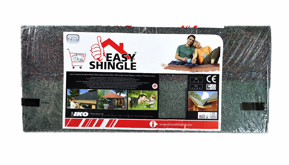 Easy Shingle Rectangulaire vert