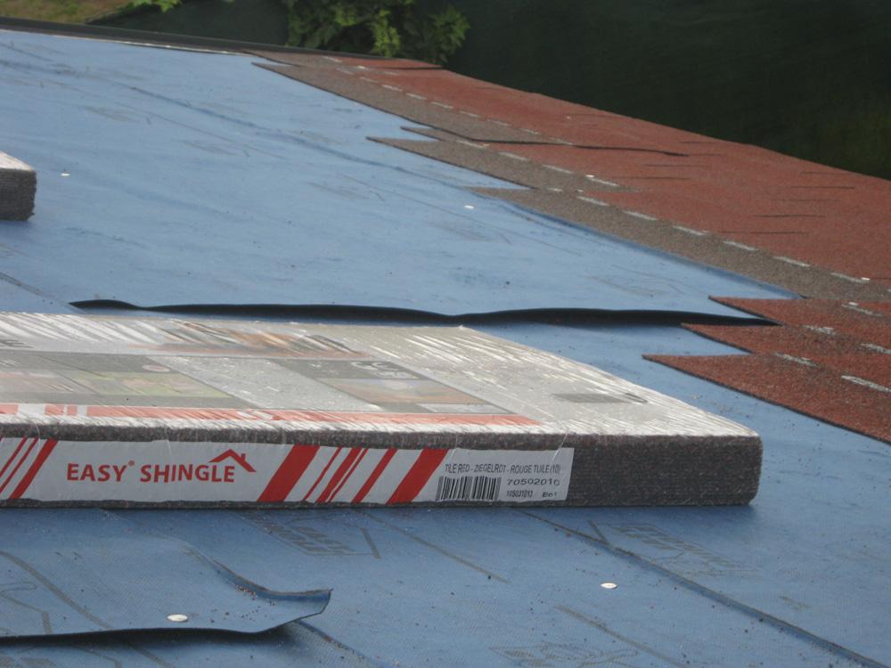 Astuces – Solution pour toiture abris de jardin