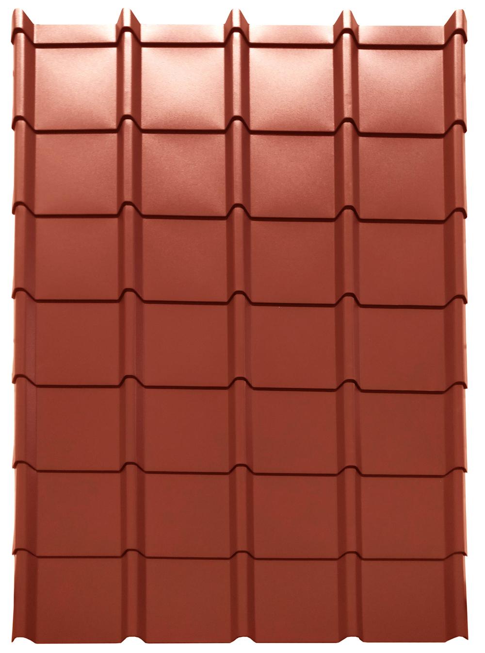 EASY-Tuile LINEA granit rouge: concept de panneaux - tuiles modulaires en finition lisse