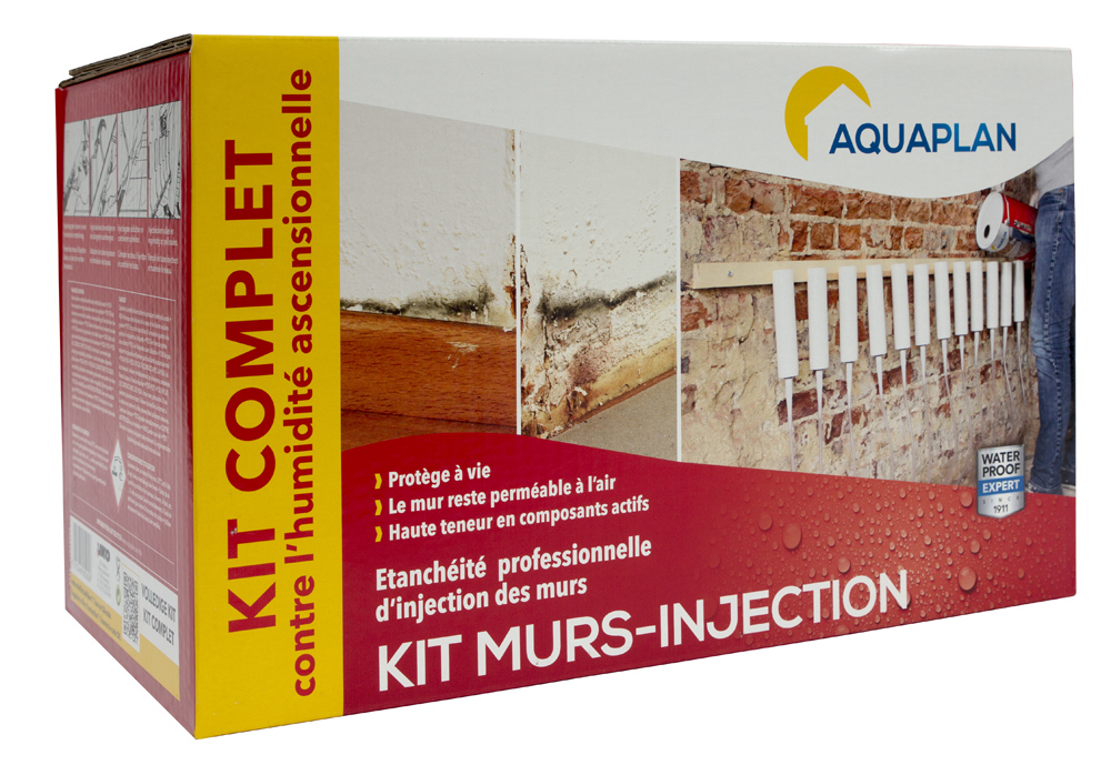Murs injection KIT BOX