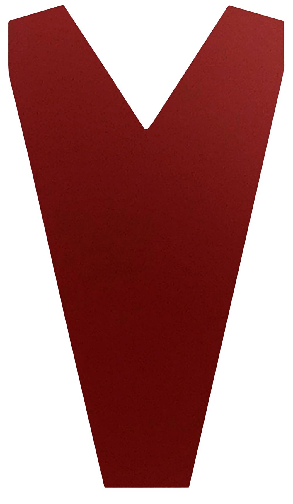 Pièce de fermeture pour plaque Easy-Tuile granit en rouge