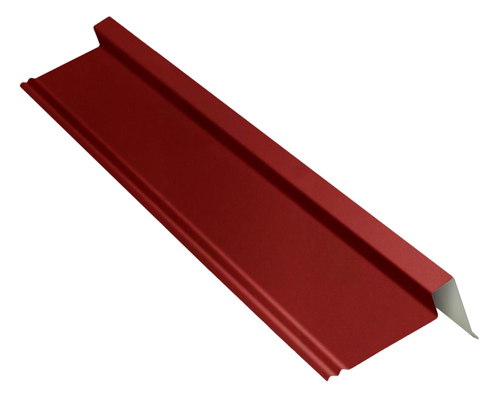 Rive gauche / droite pour plaque EASY-Tuile granit en rouge