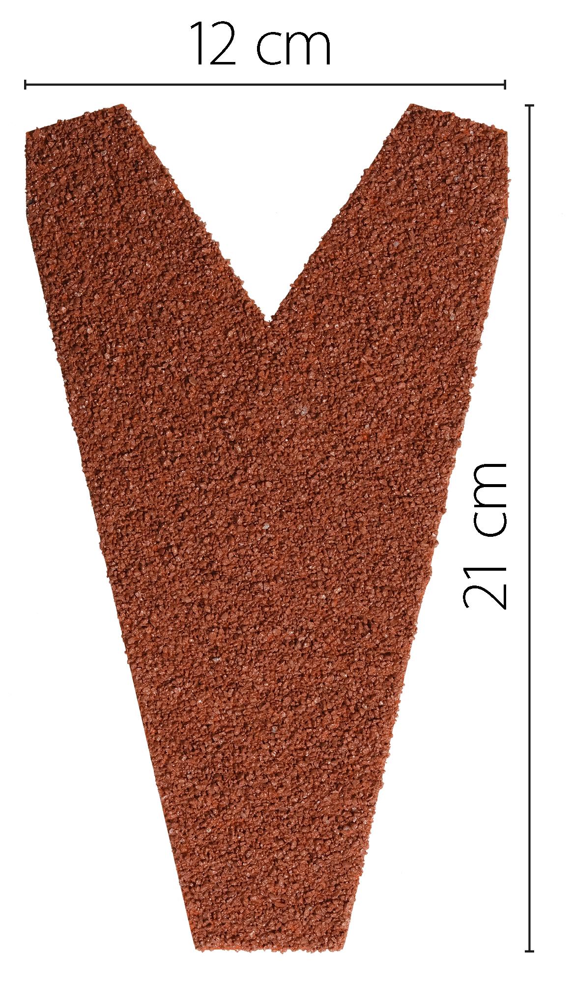 Pièce de fermeture pour plaque EASY-Tuile Rouge